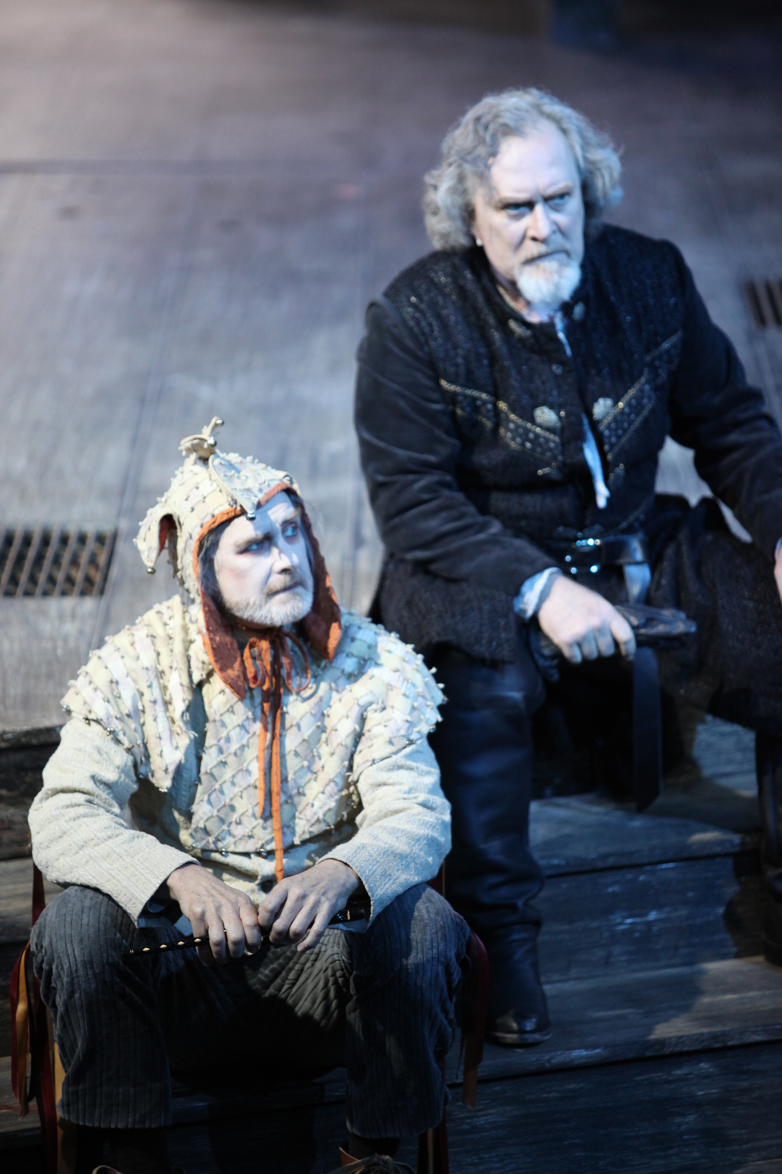 reason in madness in king lear A summary of themes in william shakespeare's king lear but there is also madness and death lear is not only a father but also a king.