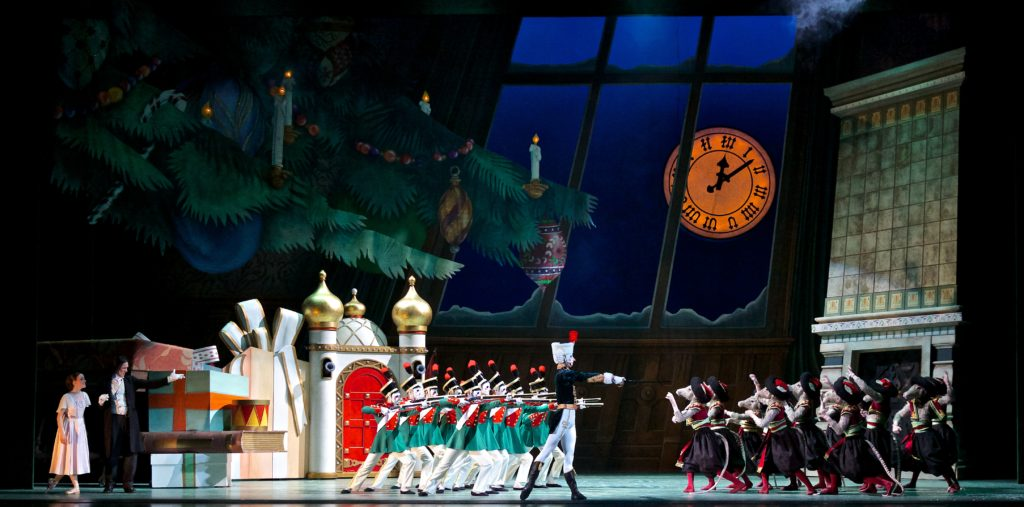 2. Alberta Ballet Company Artists in The Nutcracker. Photo by Paul McGrath
